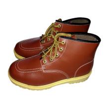 Панама Рабочие кожаные ботинки