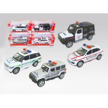 Ziehen Sie zurück Metallauto-Druckguss-Auto-Legierungs-Polizei-Auto (H5094080)