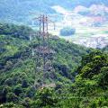 Circuito de Doubule 220kv Transmisión de Potencia Tangent Tower