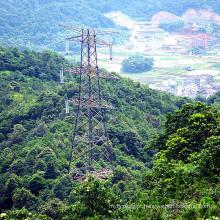 220kv Doubule Circuit Transmissão de Energia Tangent Tower
