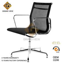 Preto de malha luxo casa móveis cadeira de leitura (malha de GV-EA108)
