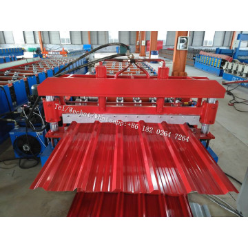 Roofing System Trapezoidal Roofing Sheet Machine