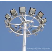Galvanized High Mast Lighting Steel Pole