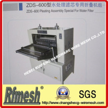 Pleating Assembly Special for Water Filter (ZDS-600)