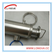 Fabricación de China Filtro de tubería de acero inoxidable