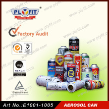 China Supplier Tin and Aluminium Empty Spray Cans Aerosol