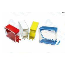 Dental Cotton Roll Dispenser with Press