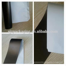 PE protective film black & white for printing