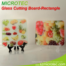 Glass Cutting Board - Rectangular-CB003