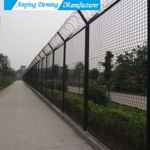 v curves wire mesh fence panels for boundary wall