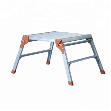 fold up stairs/mobile platform ladder/ladder work bench