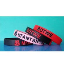 Waterproof Silicon Wristband Soft Wrist Strap (GZHY-SW-009)