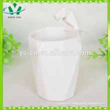 Hot sale wholesale ceramic coffee mug,knitted ceramic mug
