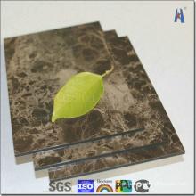 Material de painel compósito de alumínio Coffee Net ACP