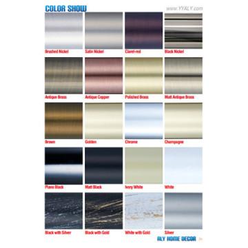 Vorhang Rod Farbe