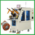 Automatic fan motor stator coil winding inserting machine