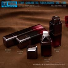 Оптовые пустой новый дизайн двойные слои сильный лосьон насос округлые квадратных высокое качество безвоздушного бутылка насоса