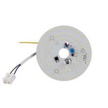 Panneau lumineux rond à LED pour luminaires d'éclairage général