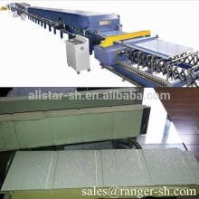 Discrete PU Garage's Door Panel roll forming machine