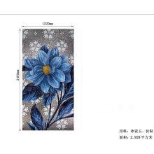 Mosaico De Vidrio Spain Mosaic Flower Hand-Cutting Tiles