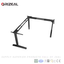 Mesa ajustável elétrica inteligente do suporte do portátil da altura da venda da fábrica com coluna de levantamento