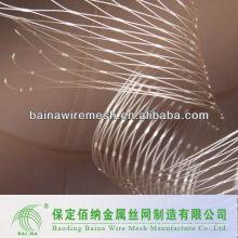 Metal Ferruled Wire Rope Mesh Stainless Steel