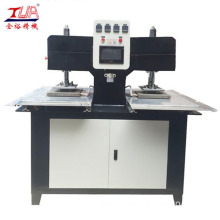 Hot Pressing Machine On Garment Clothes