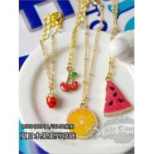 BJD Watermelon/Lemon/Ice cream Necklace For SD/MSD Doll
