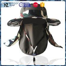 Fábrica Popular OEM camuflaje de calidad al aire libre sombrero a la venta