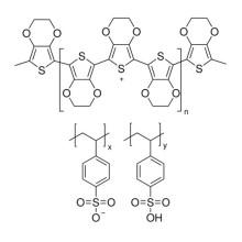 Poly (3, 4-éthylènedioxythiophène) -Poly (styrènesulfonate) CAS 155090-83-8