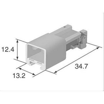 Original Sumitomo 6098-4944 4p Male Auto Connector