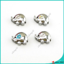 Encantos de elefante prata para jóias de slides (sc16041907)