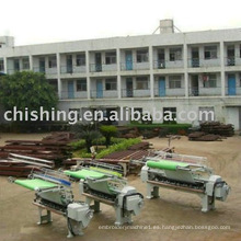 Máquina de acolchado para almohadilla de caballo