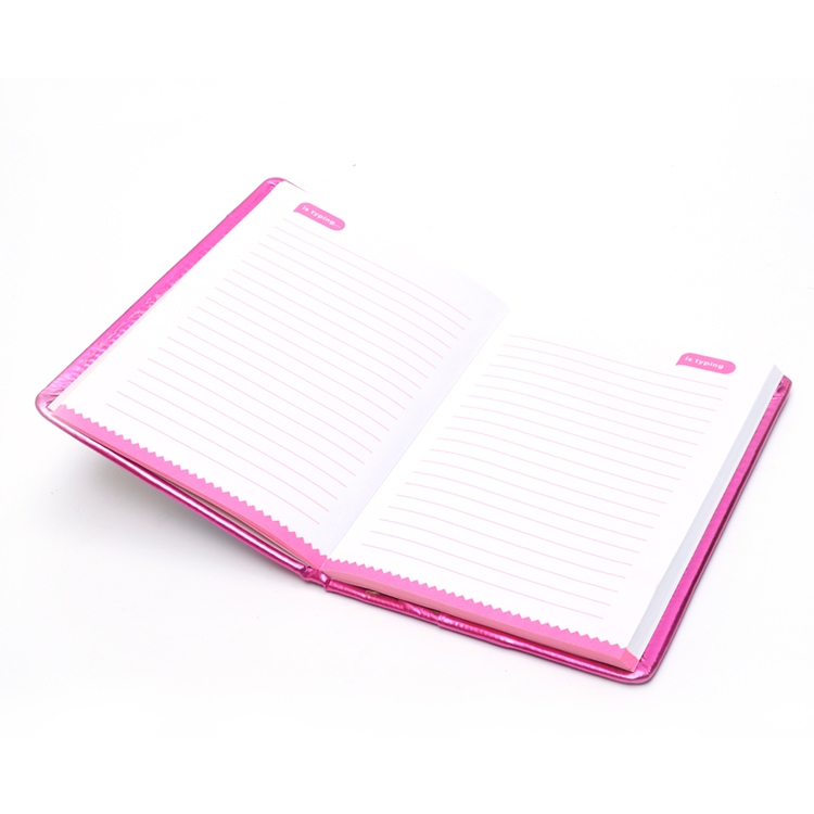 Pvc Liquid Cover Notebook 3
