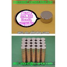 Magnete für Geldbörsen/Runde magnet