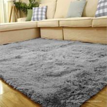 Fabricants de tapis de sol touffetés gris polyester Chine