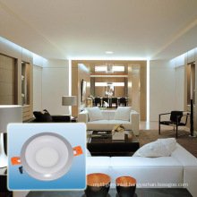 Aluminum Double Color Round LED Panel Light/LED Spotlight