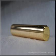 Pièces en acier inoxydable plaqué or, fabricant de pièces en acier inoxydable cnc