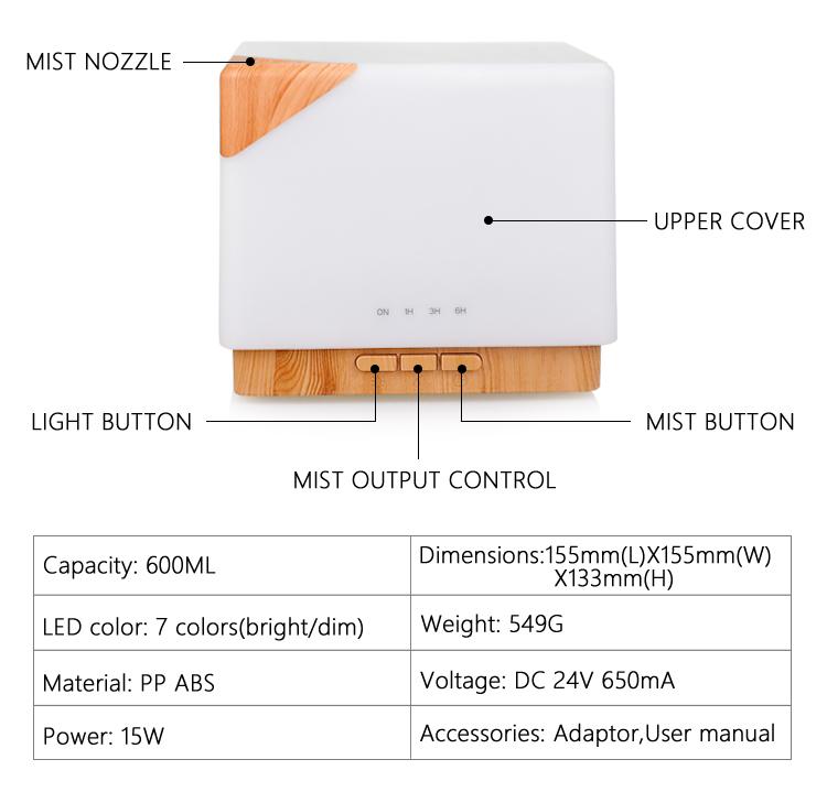 cool mist oil diffuser