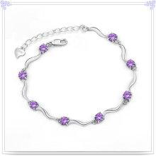 Kristallschmucksache-Silber-Armband 925 Stelring-Silber-Armband (SL0016)