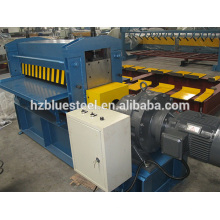 Thin Metal Galvanized Iron Stainless Steel Embossing Machine , Metal Plate Panel Embossing Machinery