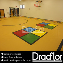 Multi-Function Vinyl Sports Flooring for Playground