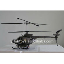 3 CH Hughes Defender Radio Remote Control Helicopter With Camera RC Helicopter