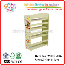 2014 new wooden book shelf for children ,popular wooden book shelf for preschool ,hot sale book shelf for preschool