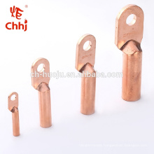 DT copper cable termination lugs crimping types connectors / crimp terminal