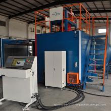 Mousse en plastique PU d'automatisation faisant la machine