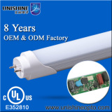 2014 hot sale 1200mm 18W ul approved t8 led tube