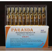 300mg/2ml, 375mg/3ml, 600mg/5ml, 750mg/5ml Injectable Paracetamol