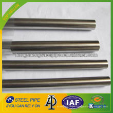 SUS 304 tubo de aço inoxidável sem costura