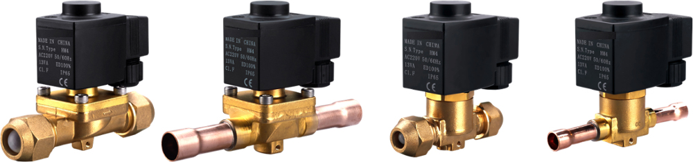 Model MSV-1070/4 diaphragm control type solenoid valve for HCFC CFC HFC(Or Customized)